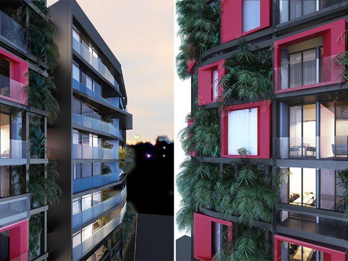 MAR MKHAEL RESIDENTIAL BUILDING – BEIRUT – LEBANON