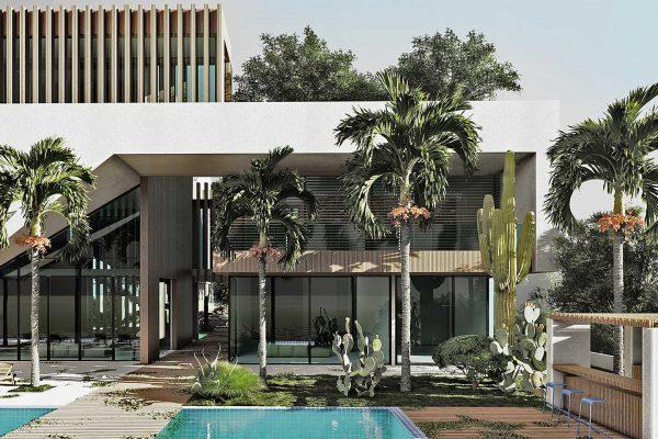 AKL ARCHITECTS - QATAR BEACH HOUSE - OPTION 1 (1)