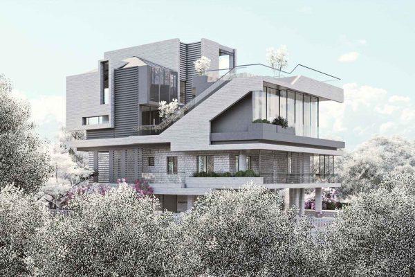 AKL ARCHITECTS- REIFOUN VILLA - LEBANON (3)